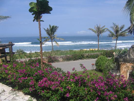 Padma Resort Legian: Ocean view from Bella Rosa restaurant