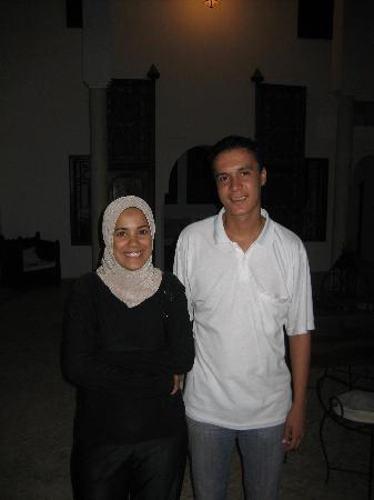 Riad Porte Royale: Hajiba and Mohamed are great hosts.