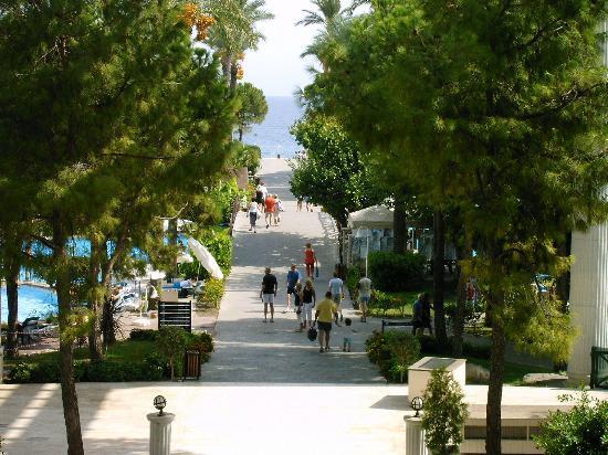 PGS Kiris Resort: View from Reception