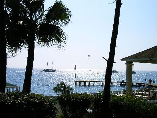 PGS Kiris Resort : View from the Beach