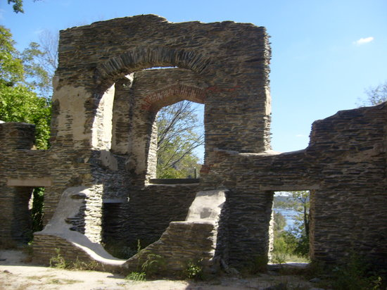 Harpers Ferry, Batı Virjinya: Inside church ruins