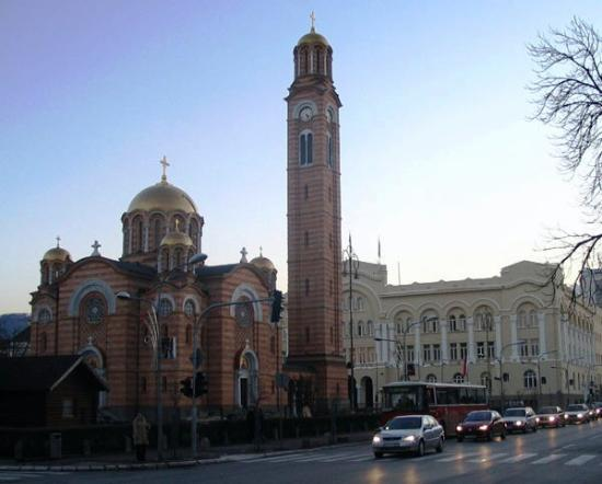 Church, Center, Banja Luka
