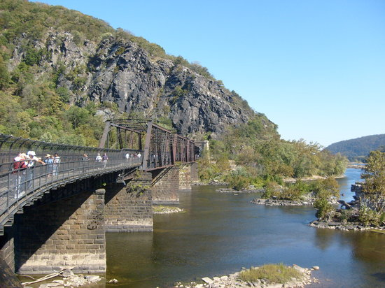 Harpers Ferry, Batı Virjinya: Railroad Bridge