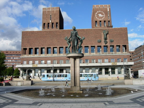 Oslo, Norwegia: City Hall