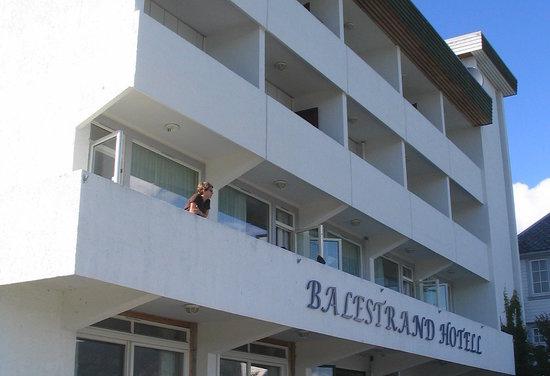 Balestrand Hotel: Balcony