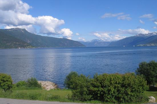 Balestrand Hotel: View from Our Balcony