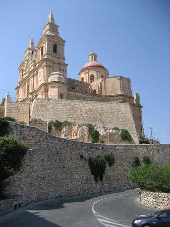 eiland Malta, Malta: Mellieha church