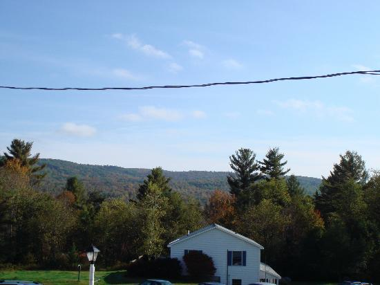 Sugar Hill Inn: view from our room