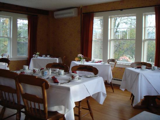 Sugar Hill Inn: dining room