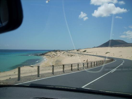 Corralejo, España: Park here,and you'd get stuck in the sand !