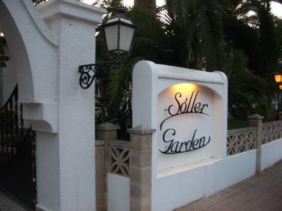 Sóller Garden: Entrance