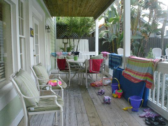 Gulfside Resorts: Our porch