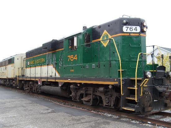 Maine Eastern Railroad: Engine