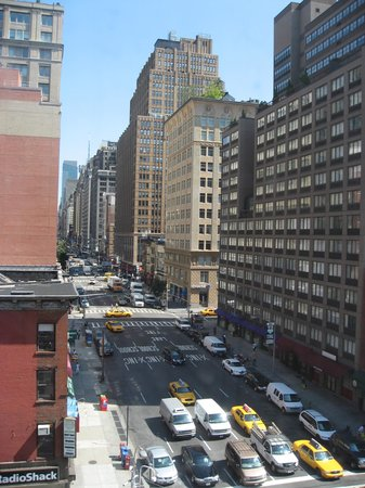 Chelsea Savoy Hotel: view from the room