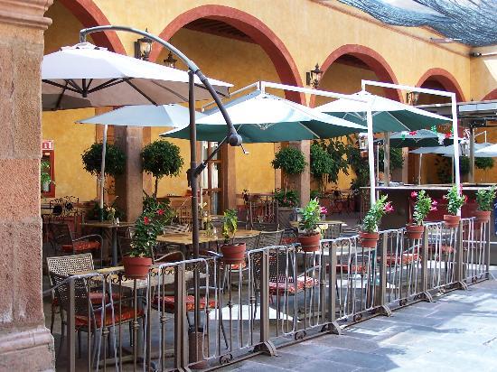 Hotel Quinta Santiago: Restaurant