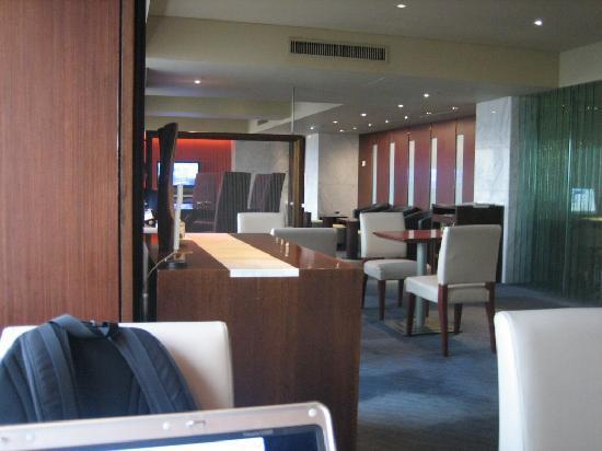 Grand InterContinental Seoul Parnas: 1/2 of the lounge