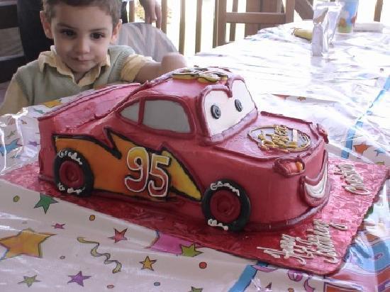 Berwyn, PA: Cars bday cake