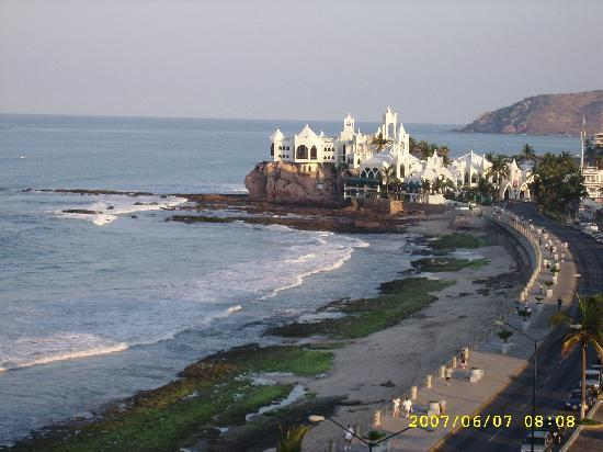Don Pelayo Pacific Beach Hotel Mazatlan: desde las alturas