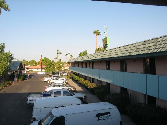 Yuma Cabana Motel : From Balcony of Suite