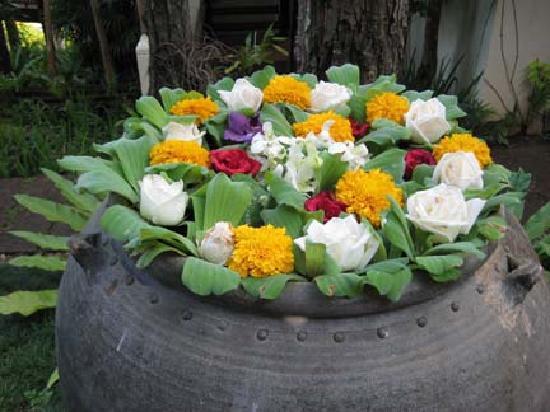 Lana Thai Villa: fresh flowers every day!