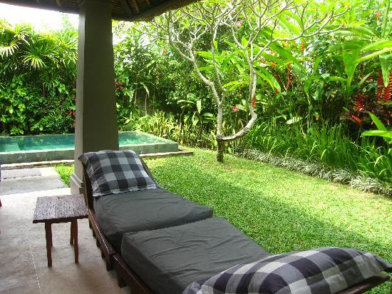 Small pool picture of maya ubud resort spa peliatan for Garden pool villa ubud