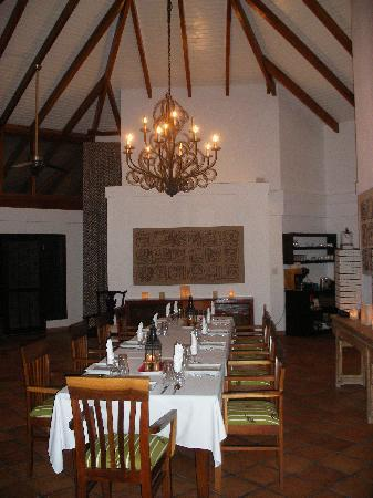 Belcampo Lodge: restaurant