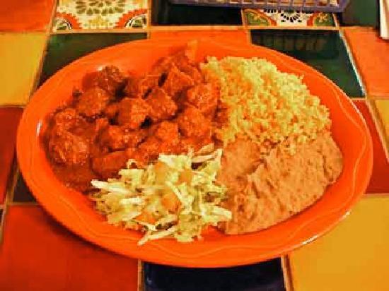 Casa Blanca Cafe: Carne Adovada