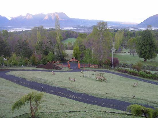Mirador los Volcanes: Observando el amanecer desde la cabaña