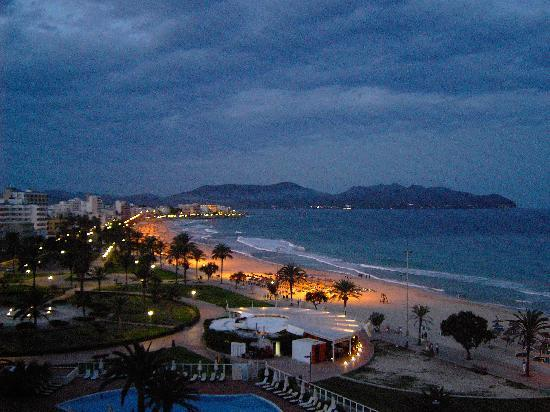 Protur Playa Cala Millor Hotel: view from balcony