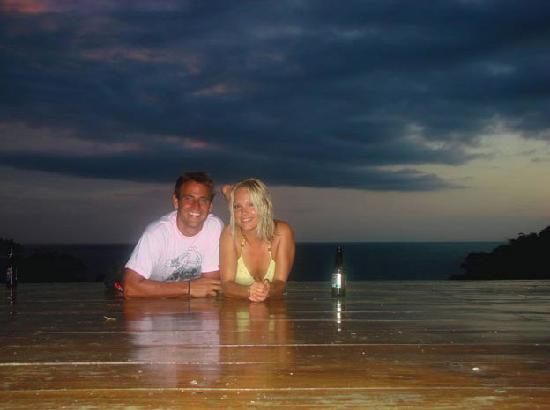 Buena Vista Surf Club : Beer at sunset after an epic days surf