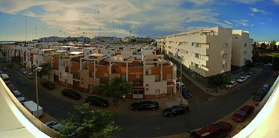 Occidental Isla Cristina: view from West-side of hotel apartment