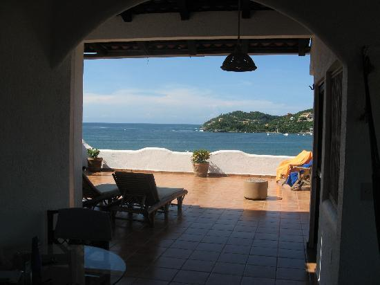 La Quinta de Don Andres: View from seating area