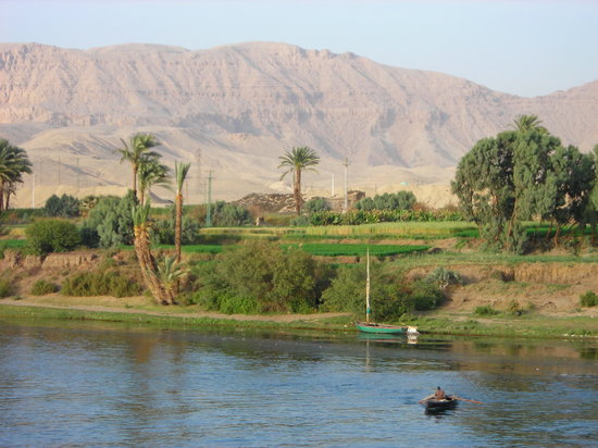 Egypt: Nile by day.