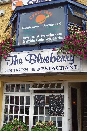 Ντόνεγκαλ, Ιρλανδία: Cyber Cafe, upstairs at the Blueberry Tea Room