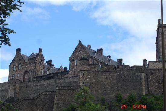 Forth View Hotel: Edinburgh Castle