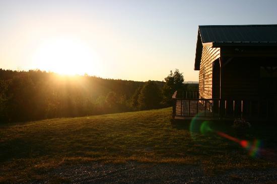 Ouachita Mountain Hideaway: Sunset