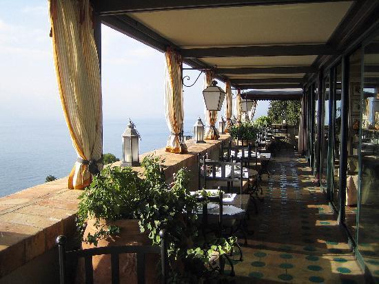 Hotel Villa Carlotta: breakfast area