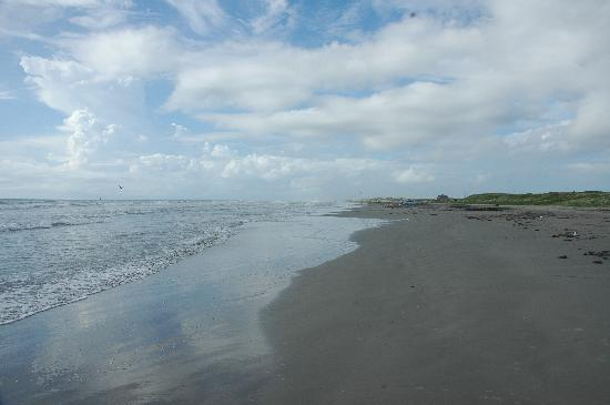 Ocean view at mustang island picture of mustang island for Port a texas