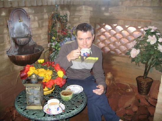 Grace's Secret Garden B&B: my handsome husband in grace's other secret garden