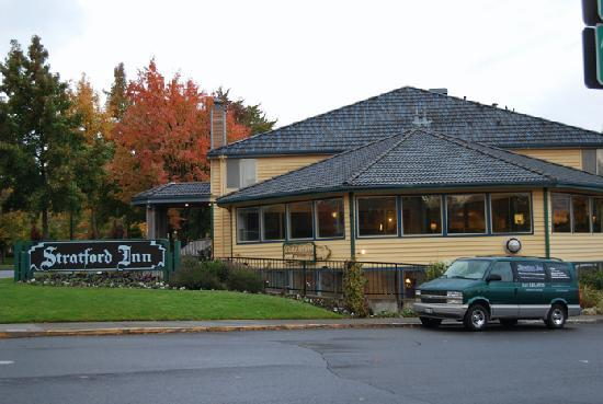 Exterior of the Stratford Inn