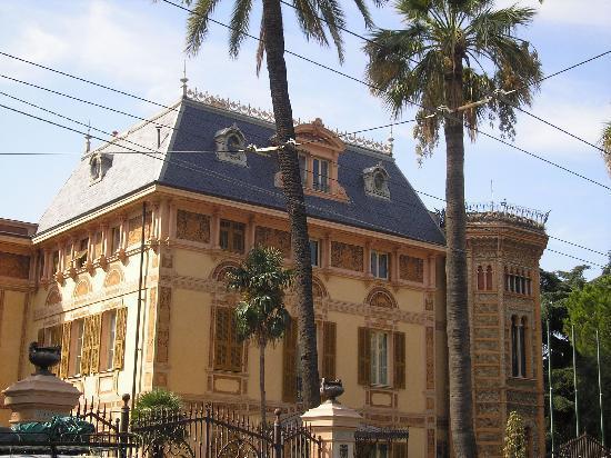 Sanremo, Italien: villa nobel
