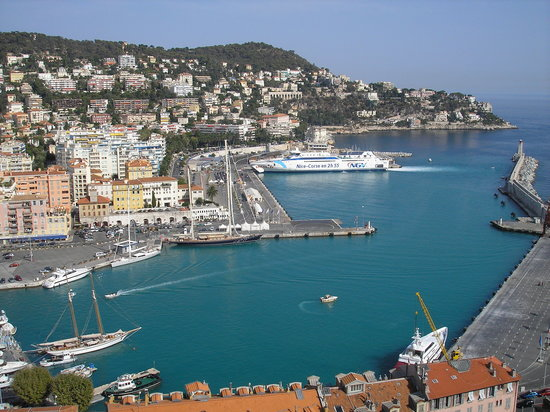 Nizza, Frankreich: beautiful bay