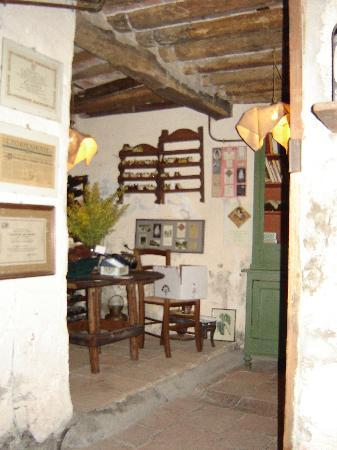 Fattoria Maionchi: The restaurant.