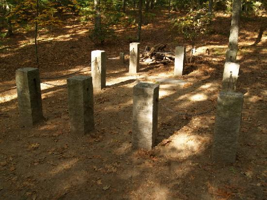 Walden Pond State Reservation: Thoreau house site