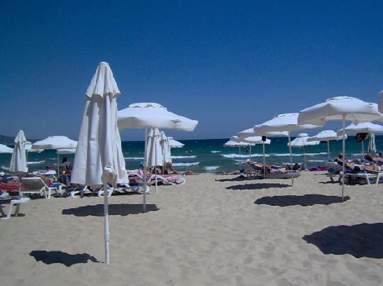 Nessebar Beach: the beach(2 mins from hotel)