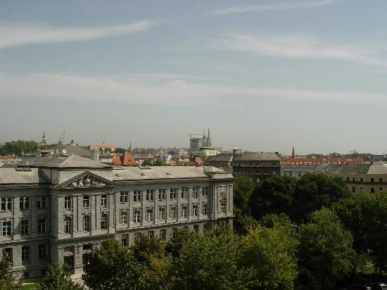 The Westin Zagreb: vue de la chambre