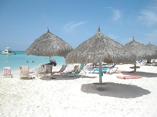 Aruba Marriott Resort Stellaris Private Huts On The Beach