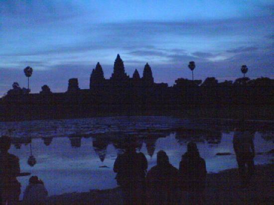 Siem Reap, Camboja: Angkor Wat before Sunrise