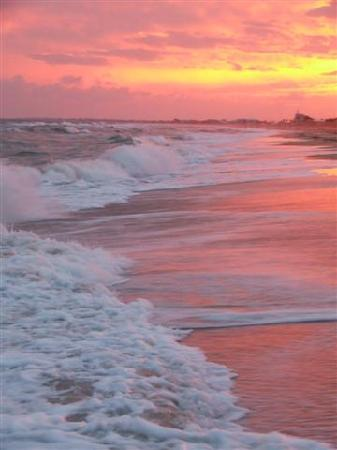 St George Island, FL: Beach @ Sunset