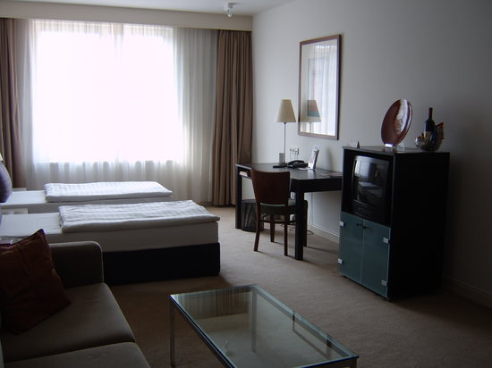 Adina Apartment Hotel Budapest: la chambre